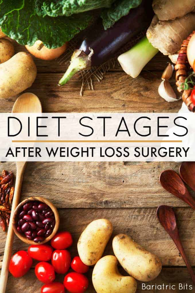 Diet Stages After Weight Loss Surgery Bariatric Bits