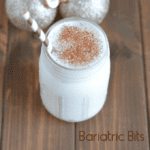 Low Sugar Eggnog Protein Shake