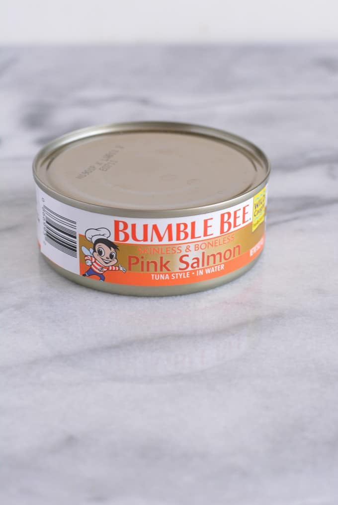 Can of salmon