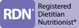 Logo or Registered Dietitian Nutritionist